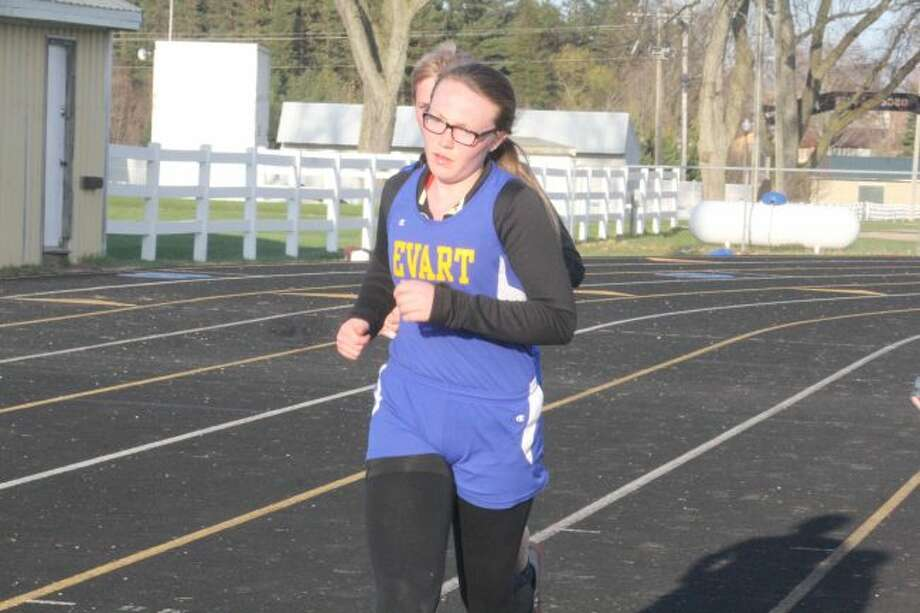 Sarah Nelson continues to have a strong season for Evart
