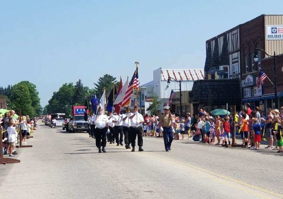 The annual Independence Day parade in Evart began on Main Street and ended at Riverside Park on Wednesday, July 4. (Herald Review photos/Meghan Gunther-Haas)