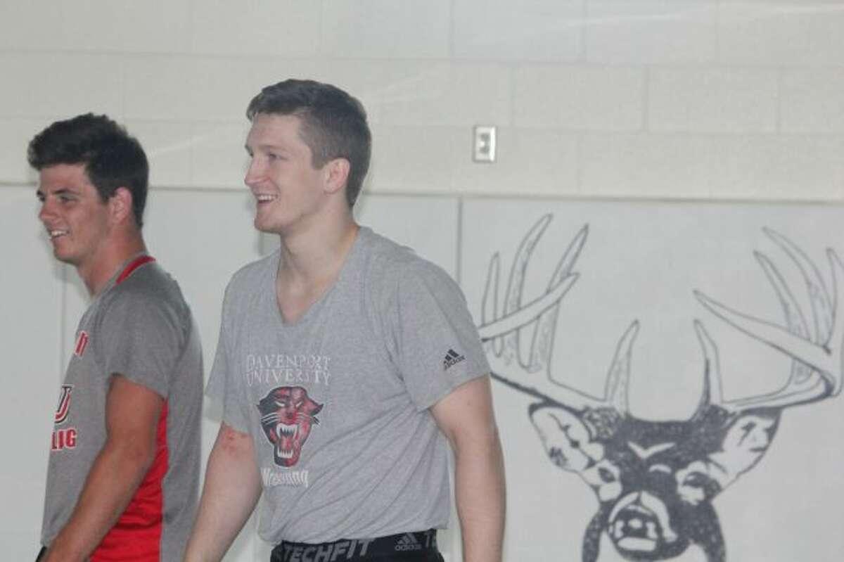 Kyle Nixon (right)