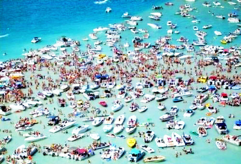 BIG DEAL: Boating is a big part of Michigan, from boat sales, to massive beach parties, to fishing, to professional events. (Courtesy photo)