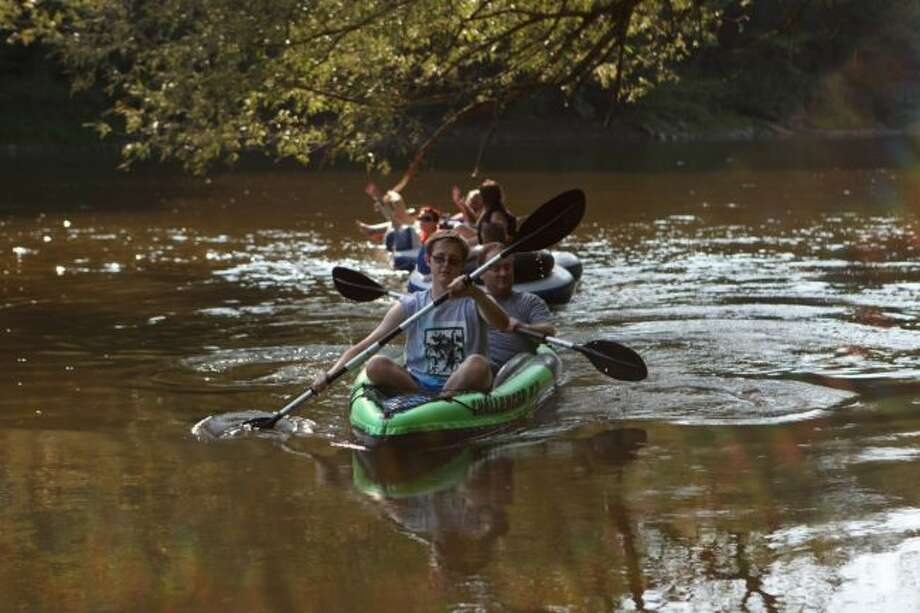 A small crew with the Big Rapids Jaycees and the Big Rapids Area River Safety project will be traveling down the Muskegon River from Friday, Aug. 4, to Monday, Aug. 6, in an effort to promote awareness of river safety. Individuals interested in participating must provide their own boats, food, transportation, camping and safety gear and participate at their own risk. Minors also must have an adult to accompany them. (Herald Review file photo)