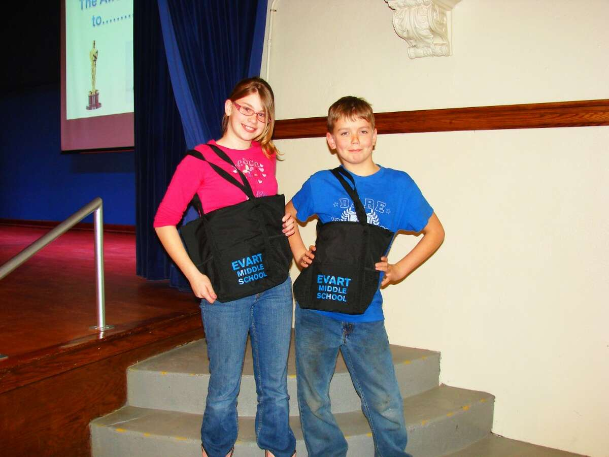 Parent Survey Award Winners: Tony Hartsock, Rebecca Kleeves.
