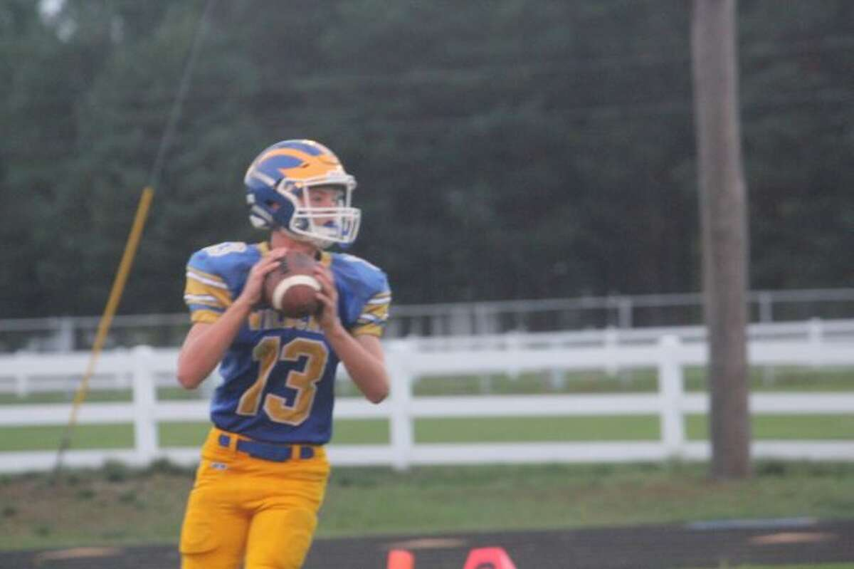 Evart quarterback Carter Pritchard eyes huge comeback season.