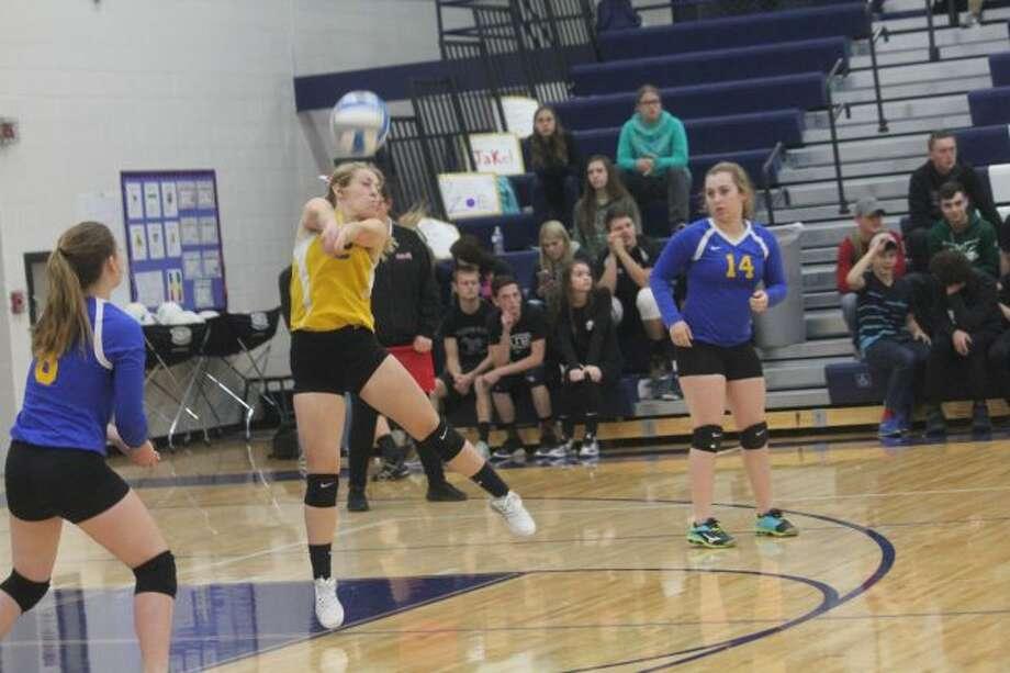 Evart's volleyball team has high hopes.