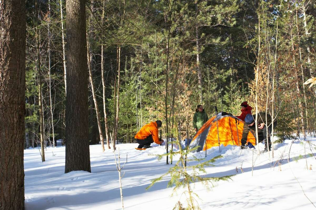 FUN IN WINTER: Even though the temperatures might not be toasty warm, you can still enjoy the great outdoors with your family. (Courtesy photo)