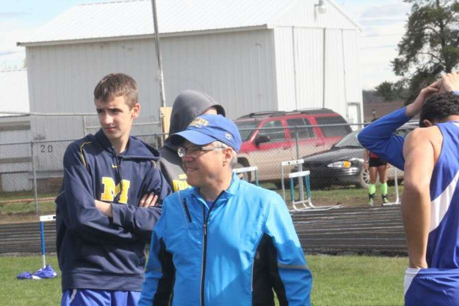 Coach Dennis Peacock's boys had a big day at state meet.