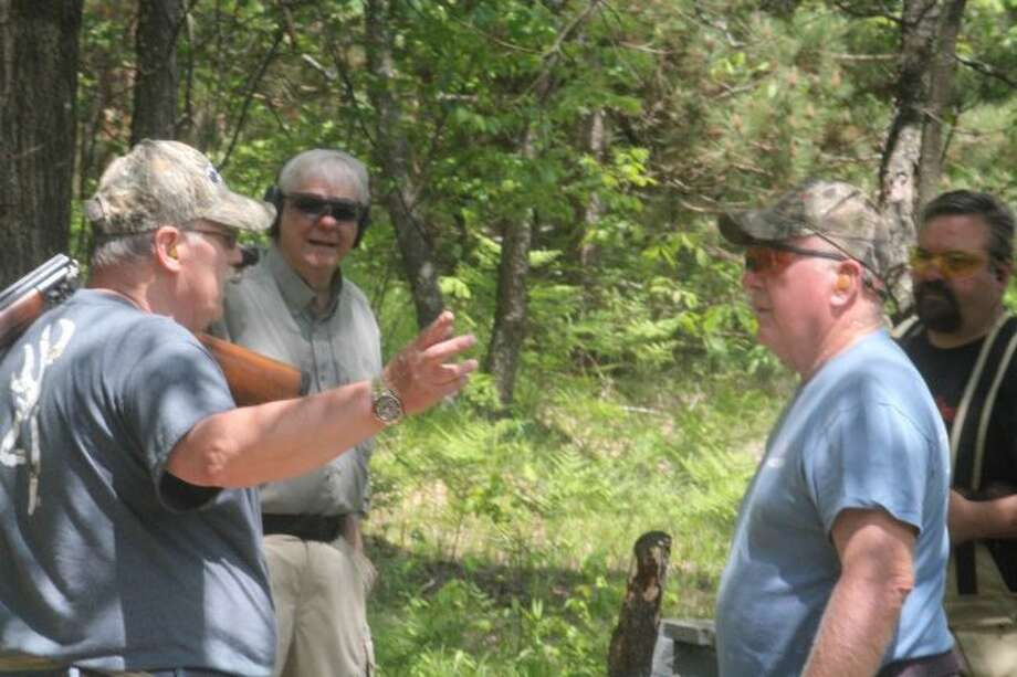 Mecosta County Rod & Gun Club members get ready for another shoot.