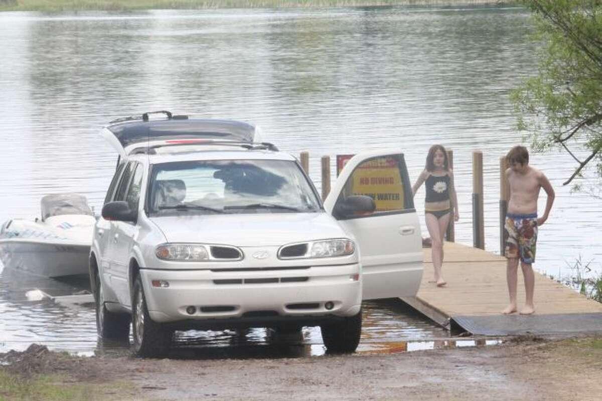 It's free fishing weekend in Michigan.