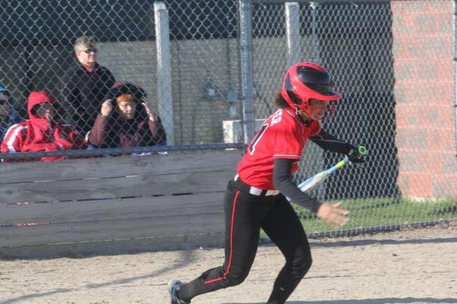 NEW COYOTE: Kiera Barker had a sparkling season for Reed City.