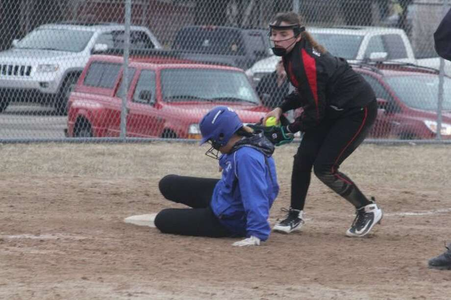 Reed CIty's softball team lost to Kalkaska in the St. Francis finals.