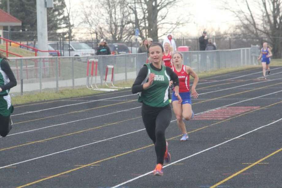 Logan Powell had a strong sophomore track season for Pine River.