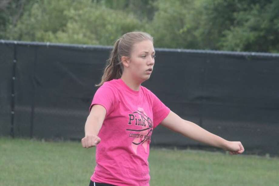 Alaina Stein was a key player for the Reed City summer softball team