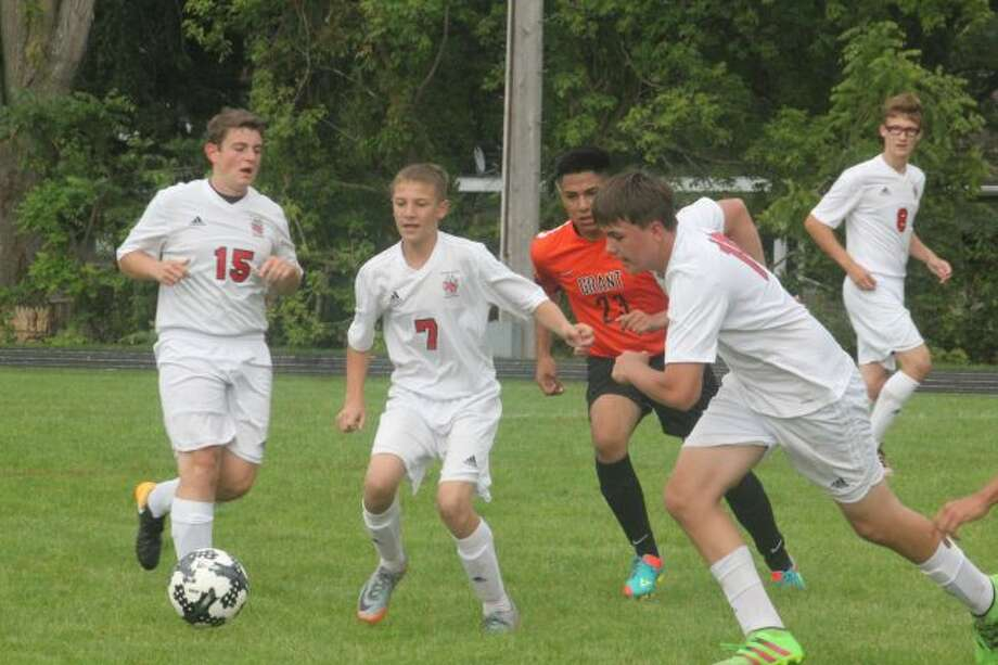 Reed City's soccer team will have a busy week.