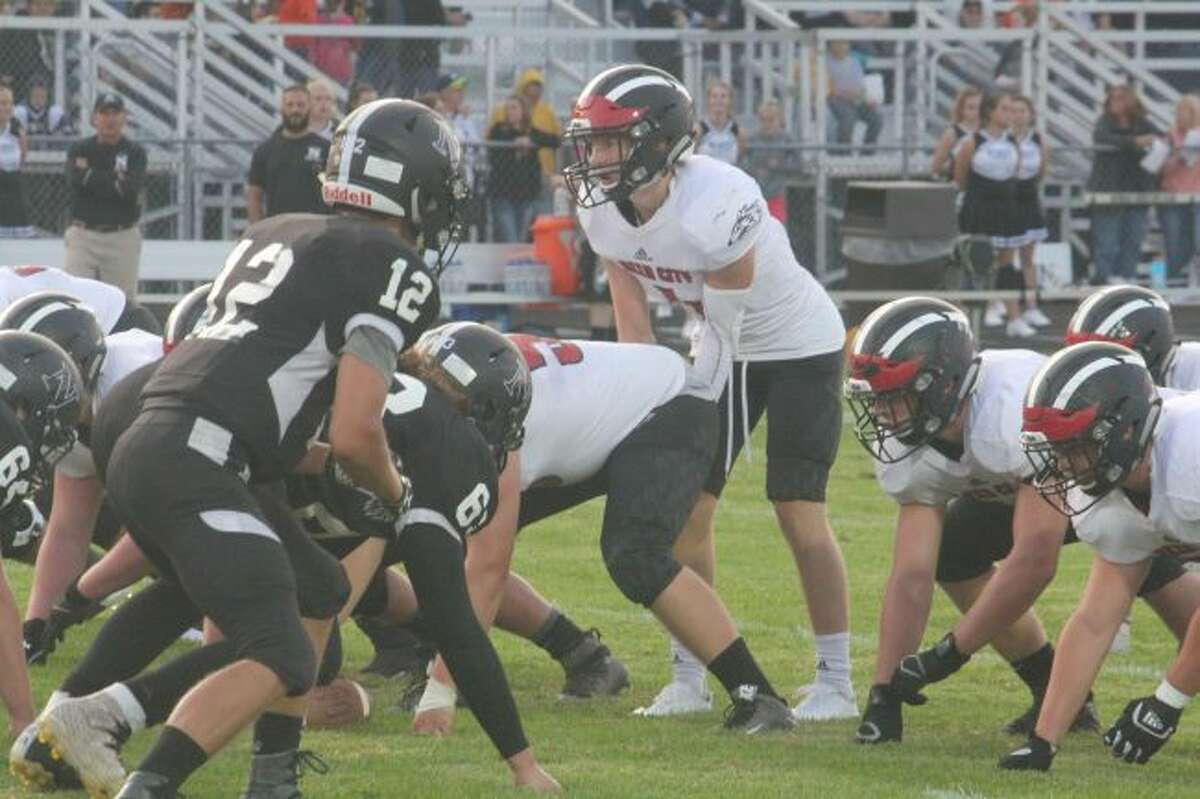Jackson Price, Reed City quarterback, and his team fell in the state semifinals.