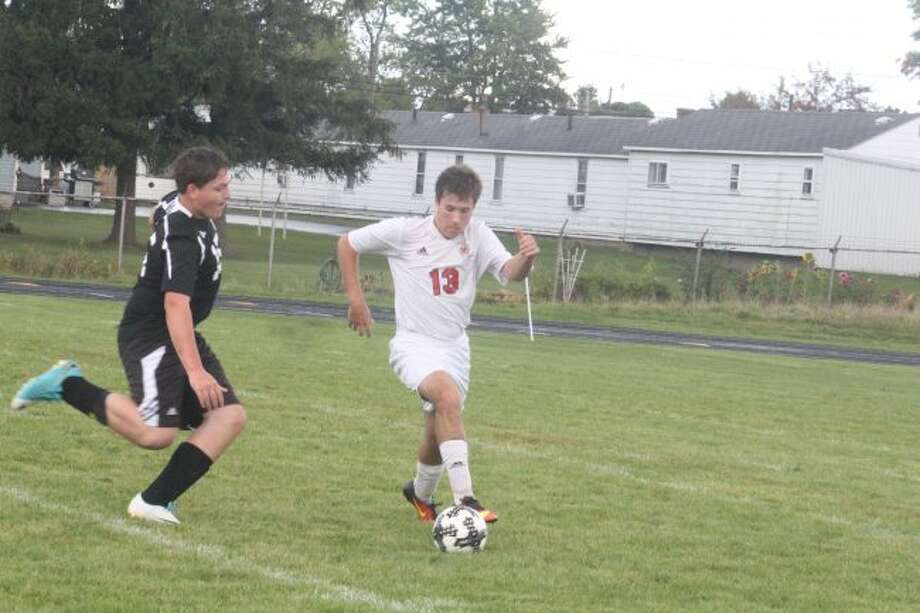 Reed City's soccer team tied Tri County.