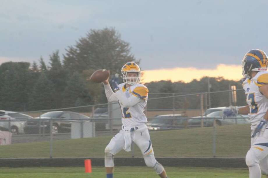 Carter Pritchard had a big night against Holton