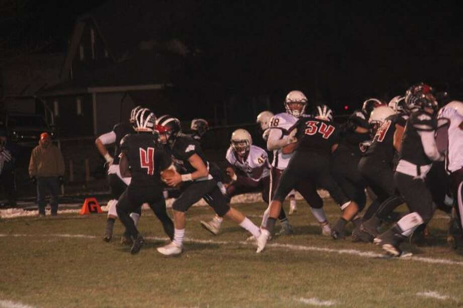The Reed City offense hopes to have a big day against Swan Valley.