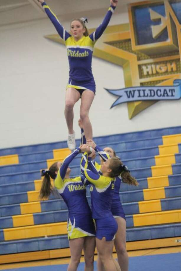 Evart cheerleader are getting ready for another season.