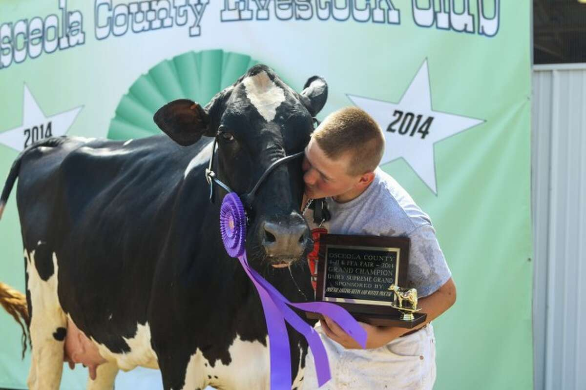 AWARDS: Trophies and ribbons will be awarded to the top 4-H'ers in each competition. This year, poultry and rabbits will be awarded on Monday, goats, beef and dairy beef will be featured on Tuesday, swine and sheep will take place on Wednesday, and dairy and llamas will be shown on Thursday.