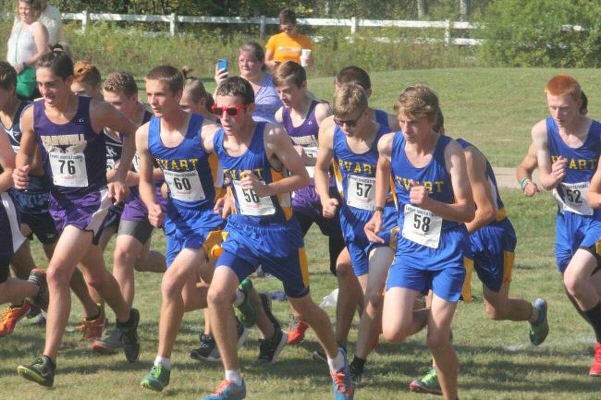 Evart's boys cross country team had another big season.