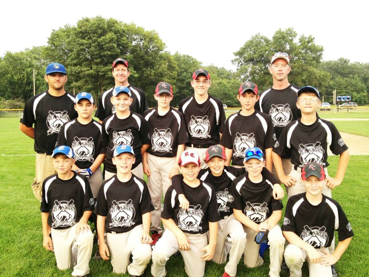 BOYS TEAM: The Reed City-Evart Little League 11-12-year-old all-star baseball team is in district action this week. (Courtesy photo)