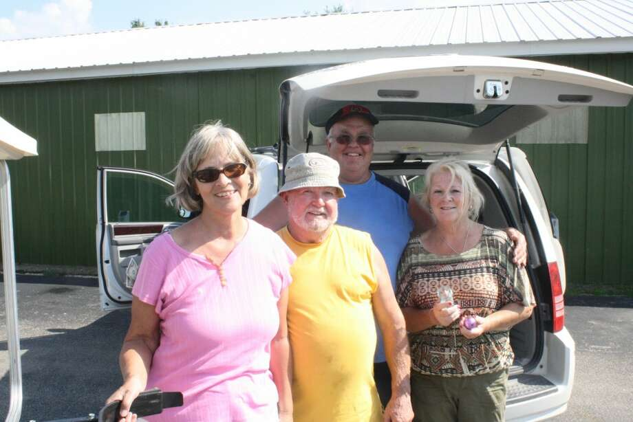 Golf Course: From left, Ralph and Faith McKenna and Terry and Elaine Howes of Cedar Springs enjoy another round of golf at Spring Valley. (Herald Review/John Raffel)