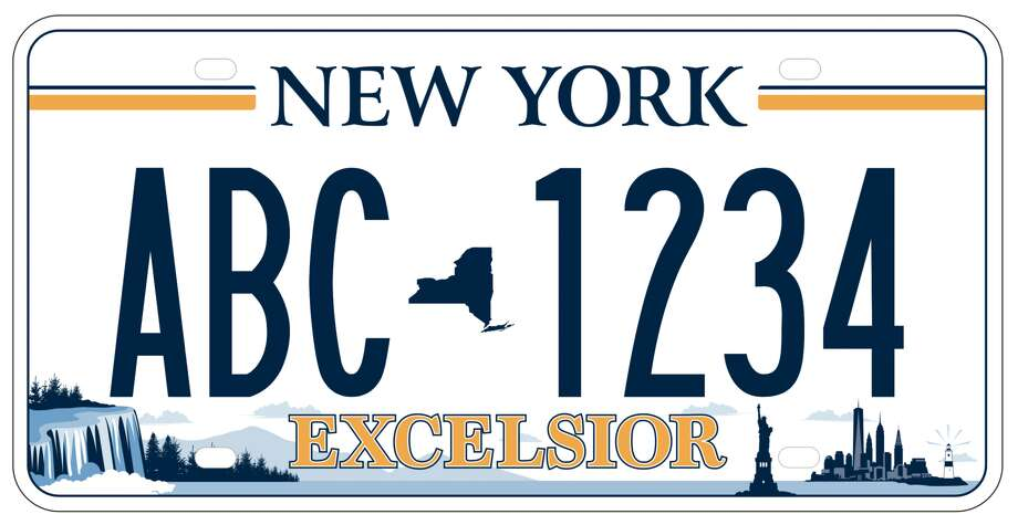 New 'Excelsior' license plates are being distributed ...