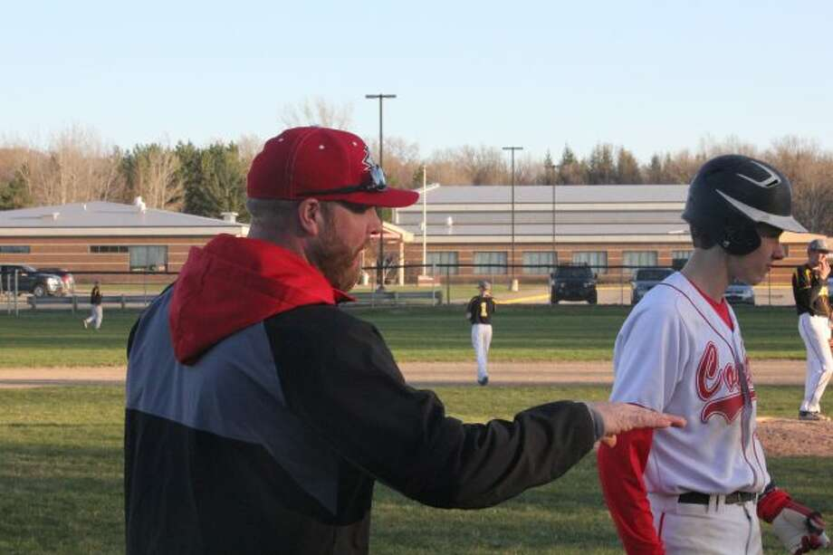 Reed City baseball coach Marty Shaffer
