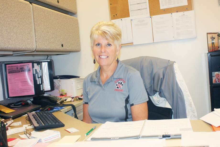 New job: Kris Griffin is Reed City's new athletic director. (Herald Review/John Raffel)