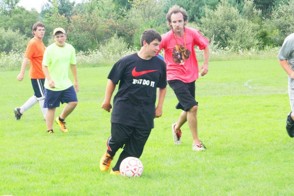 Reed City's soccer team has been conducting practices to get ready for the season that starts this Saturday. (Herald Review/John Raffel)