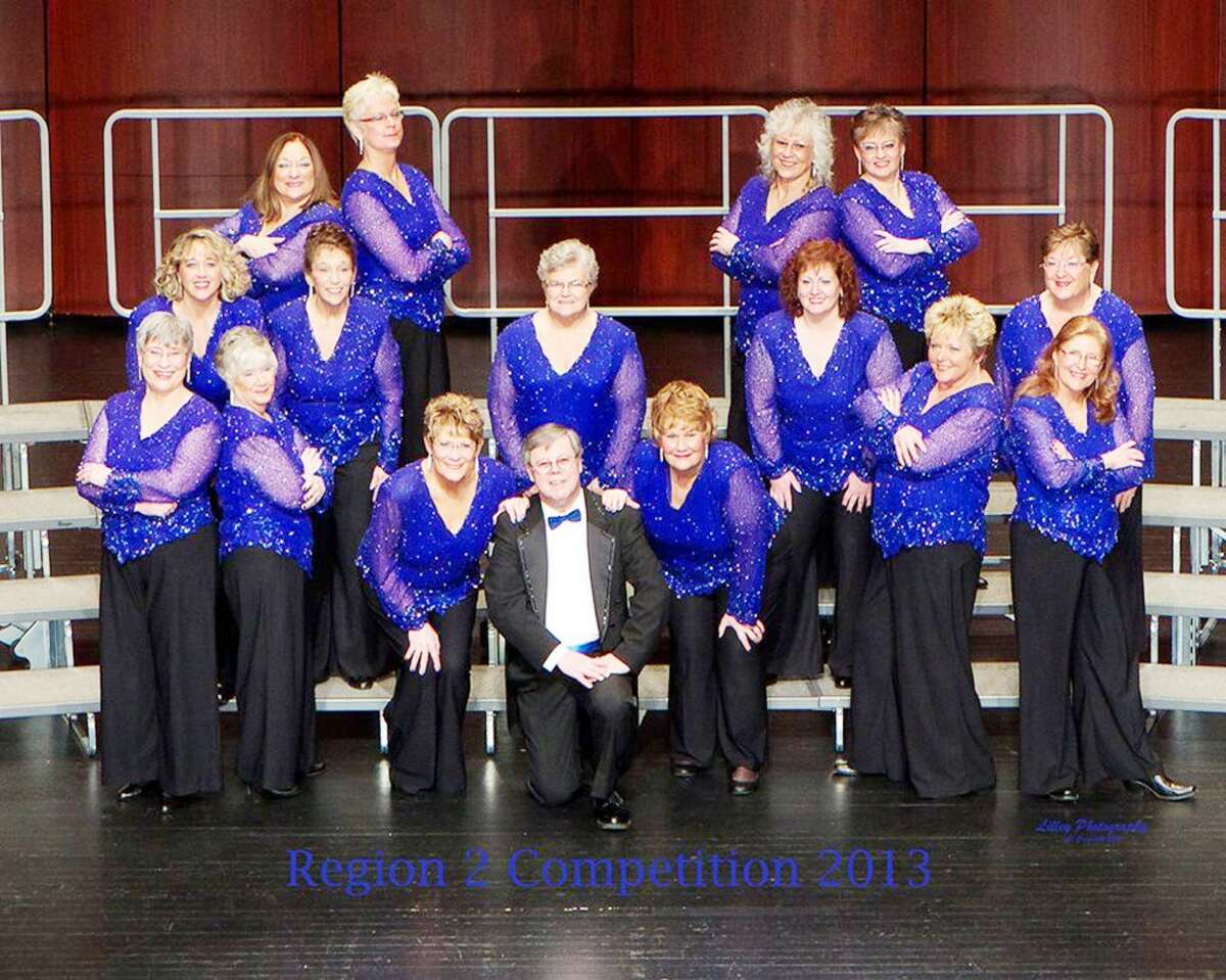 The Sweet Adelines are inviting the community to join their group and will perform at an open house on Sept. 11. (Courtesy photo)