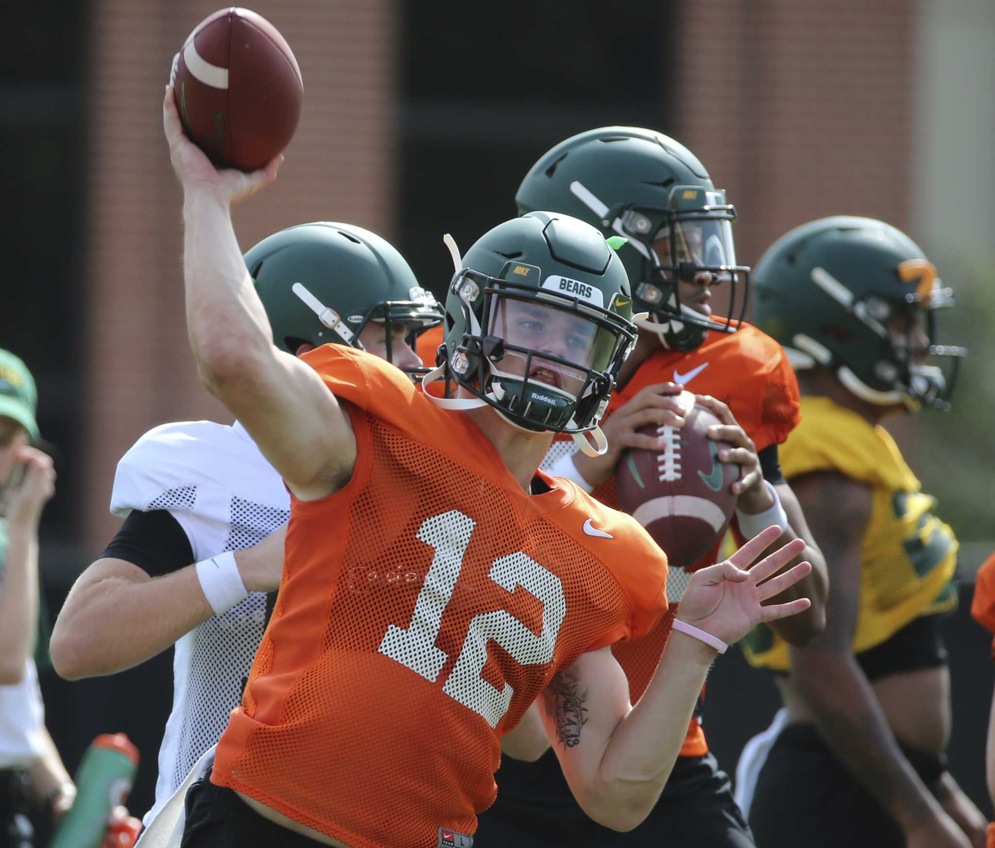 Beefing up the lines next big task for Baylor