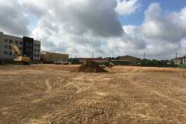 Crews work Aug. 14 at the site of what will be the largest fire station of Harris County ESD No. 48. Fire officials broke ground in March at 24127 Western Centre Drive in Katy for the 18,481-square-foot station.