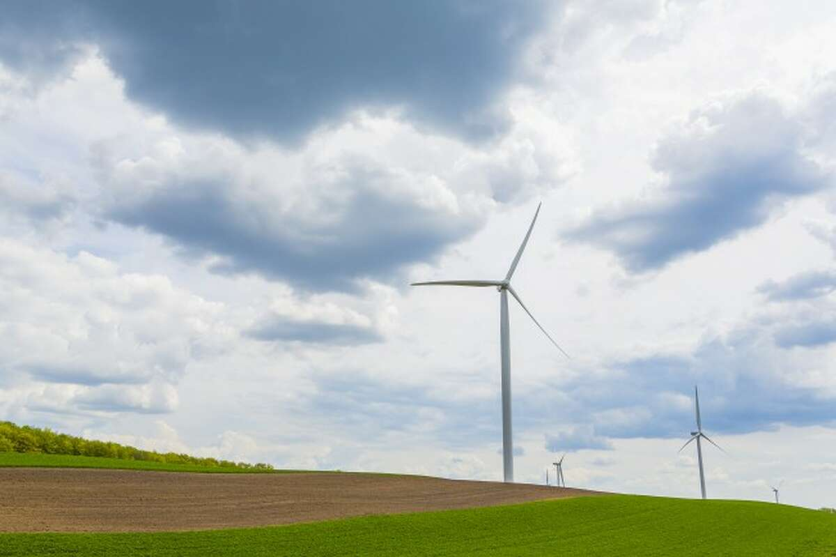 TURBINE: A wind energy company may look to property north of Evart in order to being a wind farm. An educational meeting on wind leasing will be held at 6:30 p.m., on Thursday, Jan. 2, 2014, at the Hartwick Township Hall, located at 10823 Fifteen Mile Road in Evart.