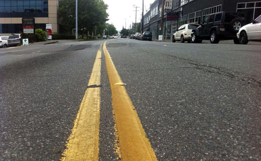 Overnight Monday, Aug. 19 2019, the city of Troy will re-stripe two-lane city roads with double yellow lines.