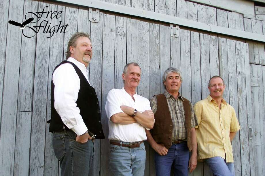 PERFORMERS: Free Flight will play their classic rock music at 7 p.m. on Saturday for audience members at the Reed City Depot. The band was originally formed in the 1970s and came together again in 2001 with three of the original members and a new drummer. (Courtesy photo)