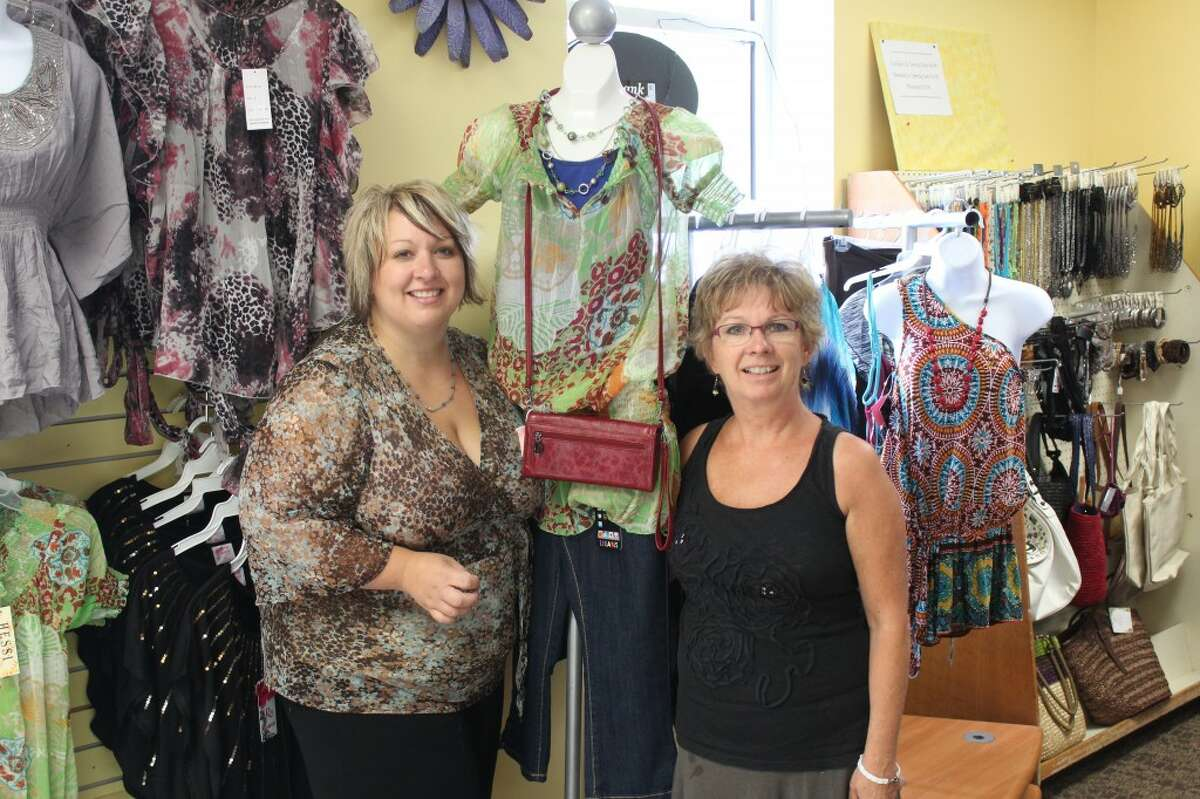 FASHIONISTAS: Monica Fuller (left) and her mother, Suzie Williams, purchased the former Discounts 4 U store located at 758 S. Chestnut St. in the plaza next to Vic's in Reed City. The store's grand opening will be Aug. 3 and 4 from 10 a.m. to 6 p.m. Friday and 10 a.m. to 4 p.m. Saturday.