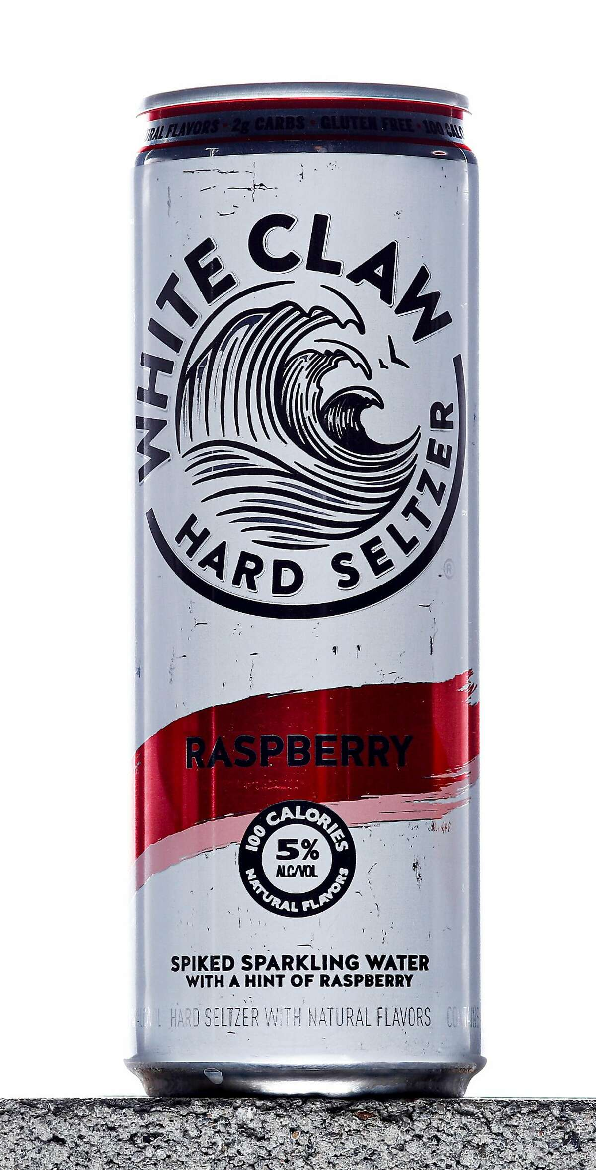 A can of Raspberry White Claw Hard Seltzer is seen on Tuesday, Aug. 13, 2019 in San Francisco, Calif. Hard seltzers were the drink trend of 2019.
