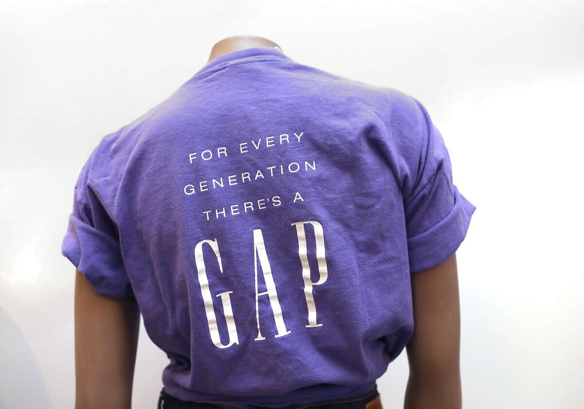 Remake of Gap t-shirt seen at the Heritage Lab on Wednesday, July 31, 2019 in San Francisco, Calif.