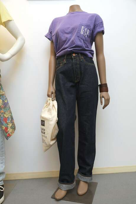 Remake of Gap 1969 jeans and t-shirt seen at the Heritage Lab on Wednesday, July 31, 2019 in San Francisco, Calif. Photo: Liz Hafalia / The Chronicle