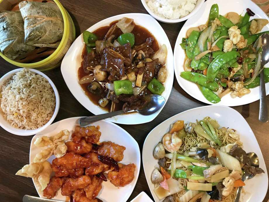 A selection of menu items from Dim Sum Oriental Cuisine Photo: Paul Stephen / Staff