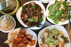 A selection of menu items from Dim Sum Oriental Cuisine