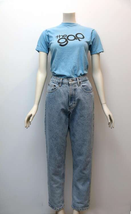 Gap remade 1969 blue jeans and t-shirt displayed at the Heritage Lab on Wednesday, July 31, 2019 in San Francisco, Calif. Photo: Liz Hafalia / The Chronicle