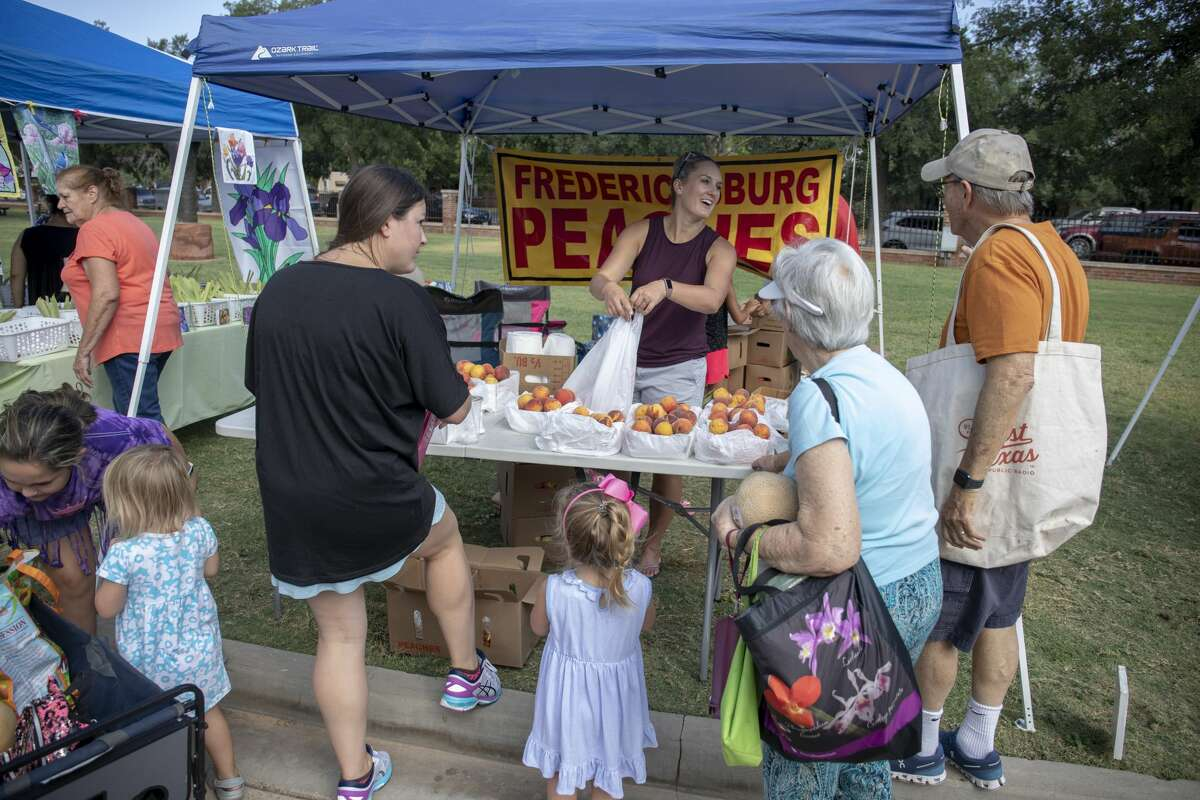 The Midland Farmer's Market on Saturday, Aug. 17, 2019 at the Museum of the Southwest.