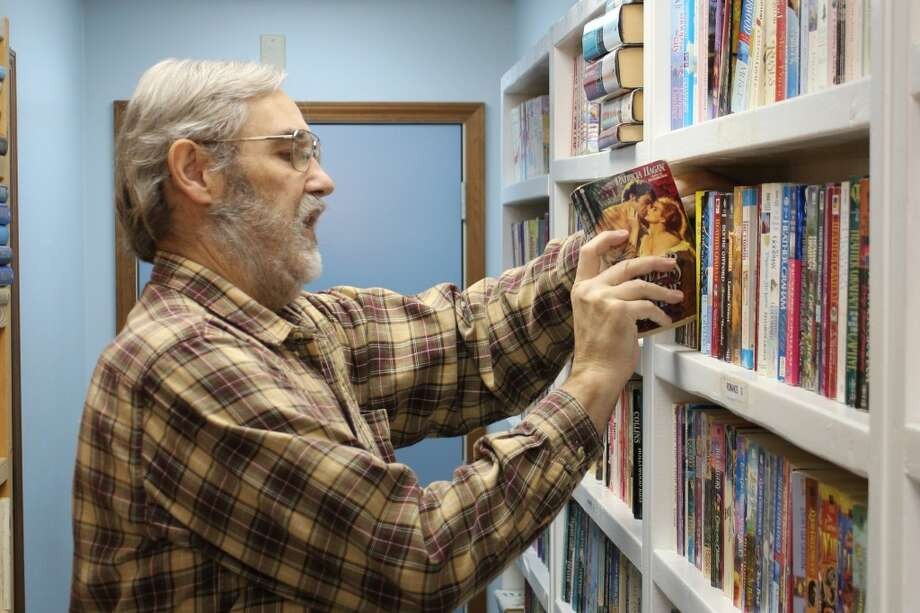 DOWNTOWN BUSINESS: Northon's Shire Bookshop opened in 2002 at 110 N. Main St. in Evart. The store sells children's books, science fiction, fantasy and general fiction books. (Herald Review photos/Sarah Neubecker)