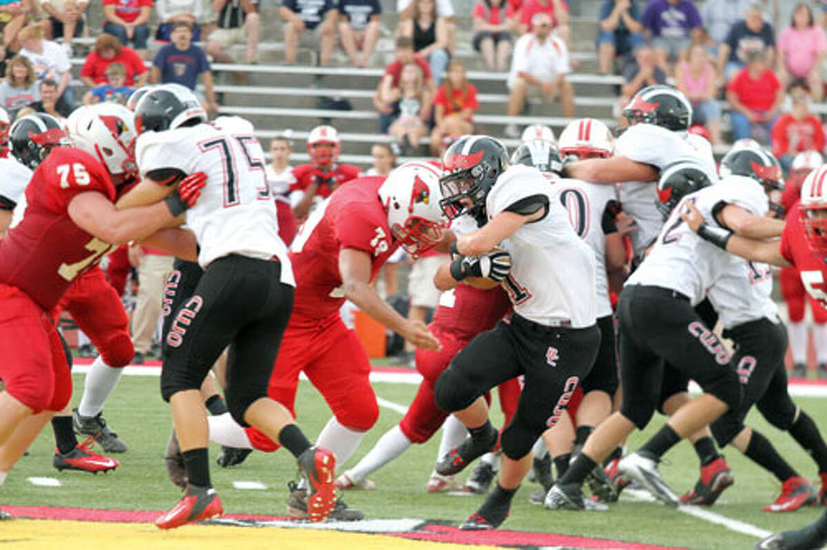 BACK TO THE GRIND: Reed City's offense hopes to have big night against Newaygo. (File photo)