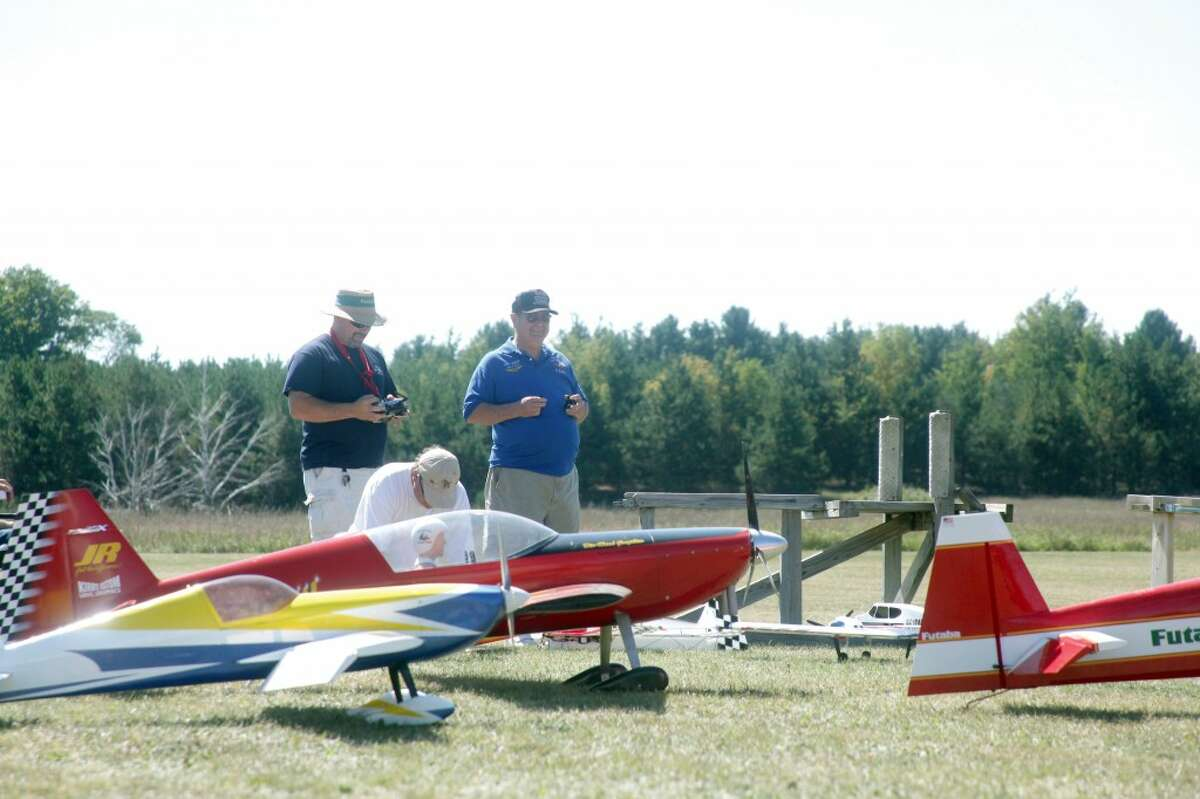 MODEL CITIZENS: Model plane pilots fly planes known as