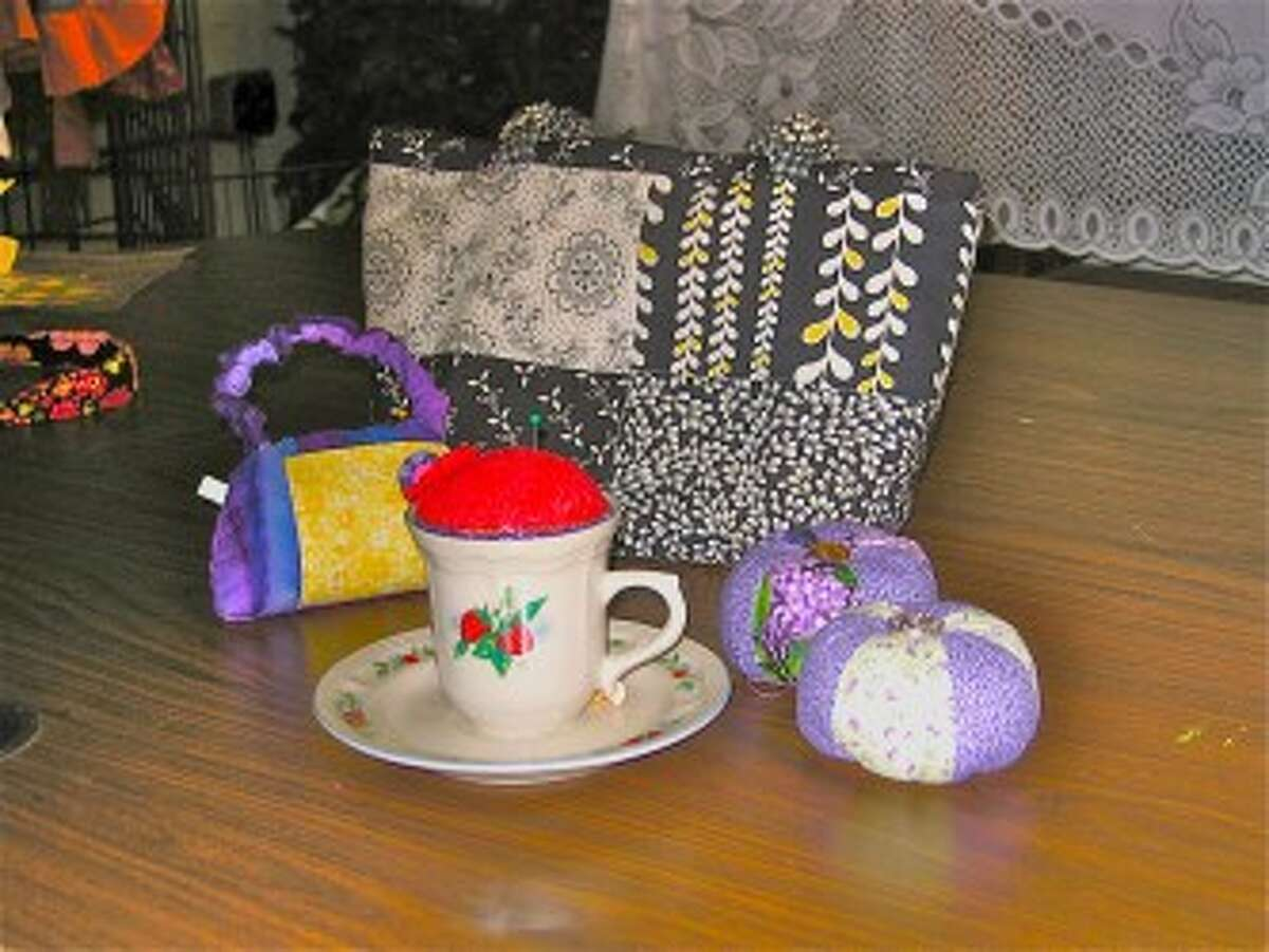 ACCESSORIES: Innovative quilted items.