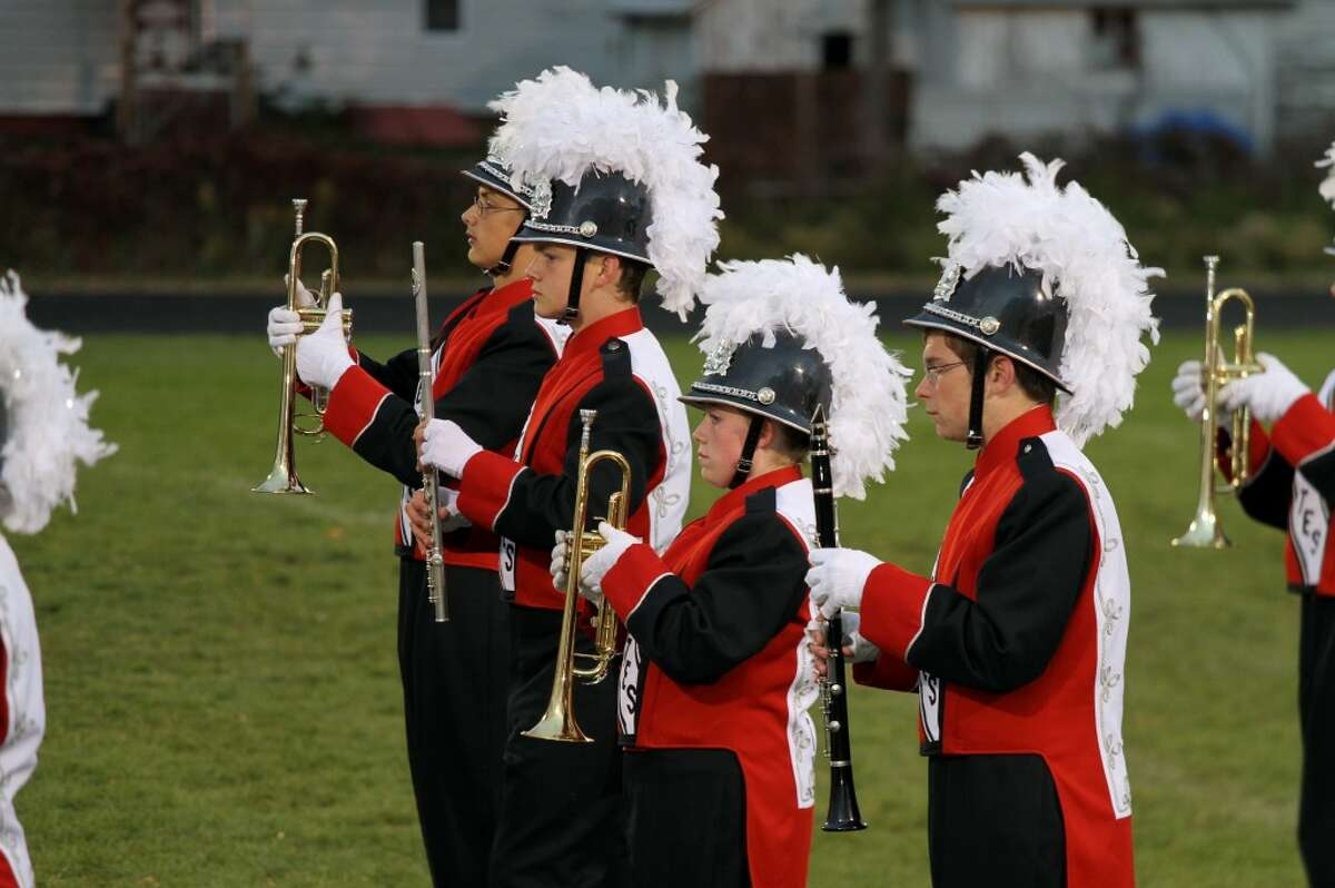 """WICKED: The Reed City marching band performed pieces from the musical """"Wicked."""""""