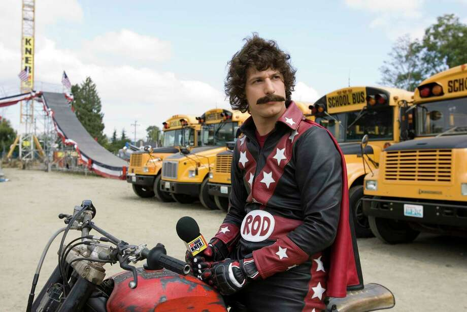 """""""Hot Rod"""" will be screened at The Alamo Drafthouse Cinema on Tuesday. Photo: James Dittiger / Paramount Pictures / handout"""